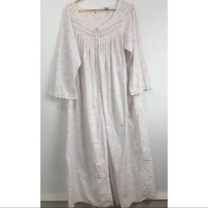 Very Light Pink Cotton Eileen West Nightgown